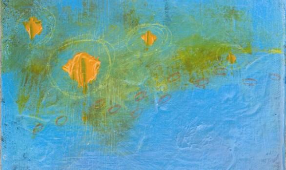 Nymphaea In Orange