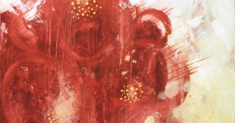 Rosa Foetida in Red